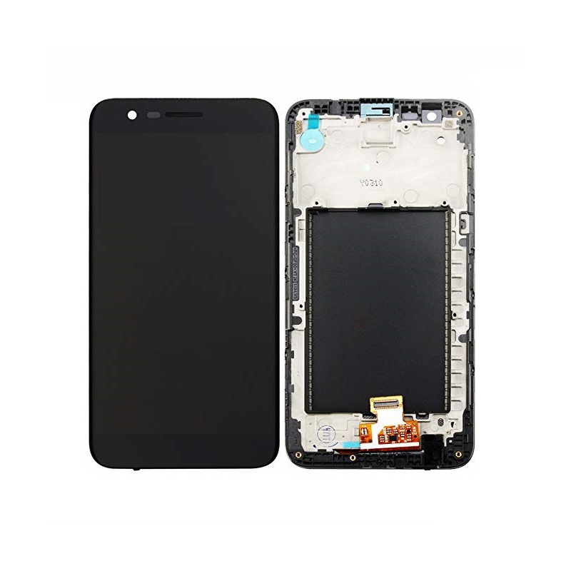 LCD + dotyk + rámeček pro LG K10 2017, black OEM