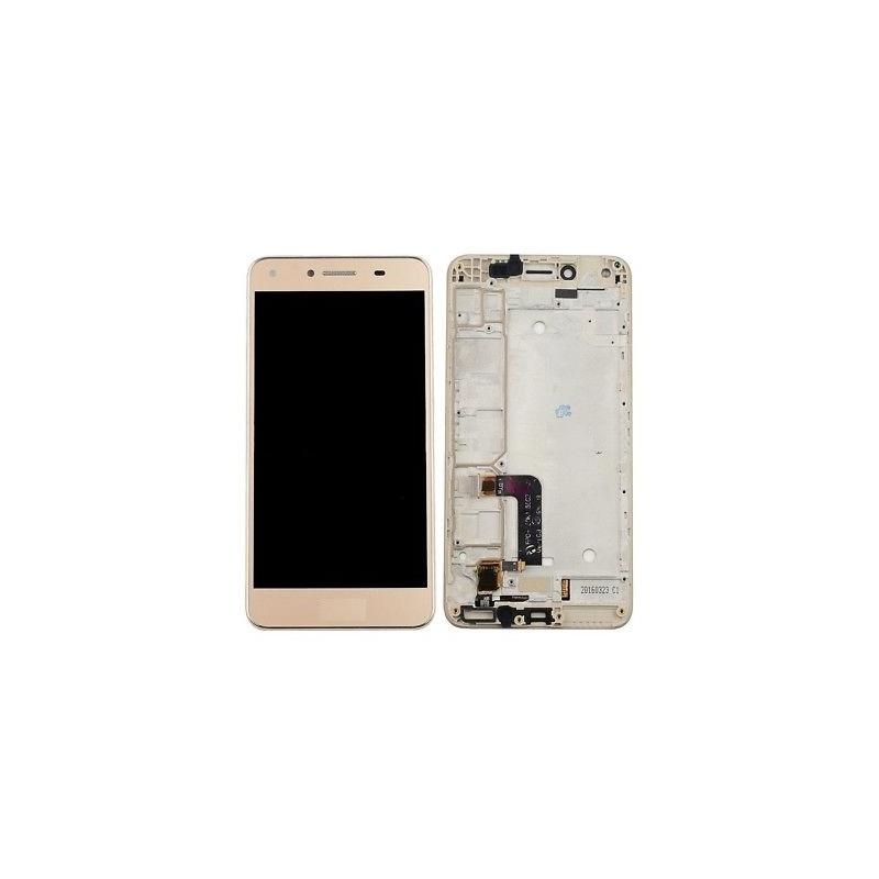 LCD + dotyk + rámeček pro Huawei Y5 II, gold OEM
