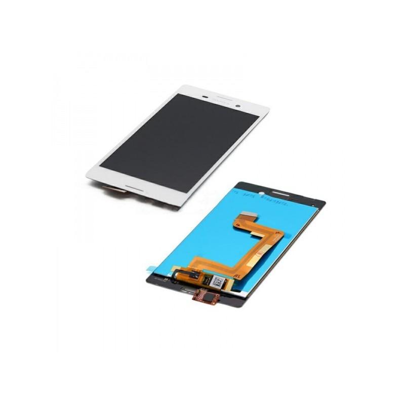 LCD + dotyk + rámeček pro Sony Xperia M4 Aqua, white OEM