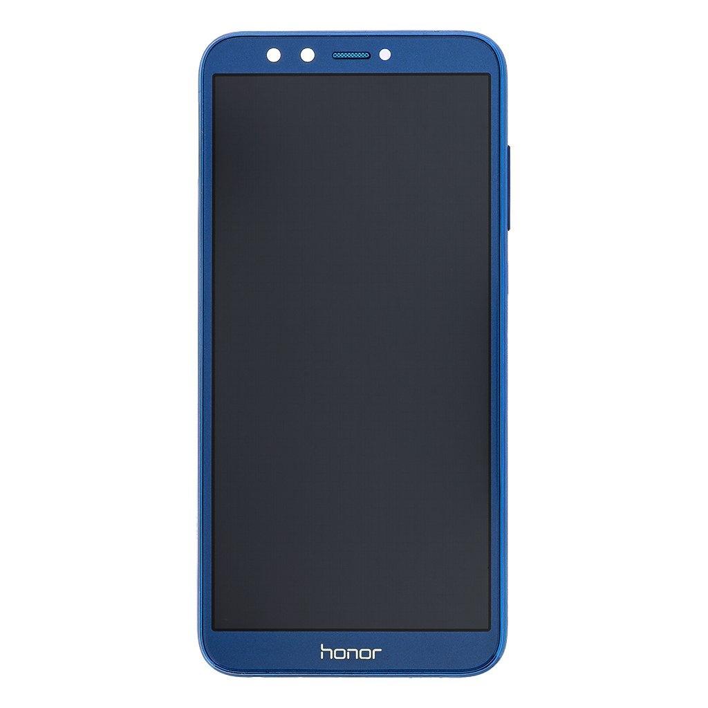 LCD + dotyk + přední kryt pro Honor 20, blue