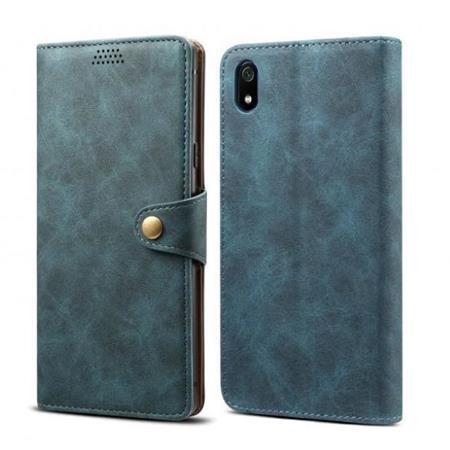 Lenuo Leather flipové pouzdro na Xiaomi Redmi 7A, blue