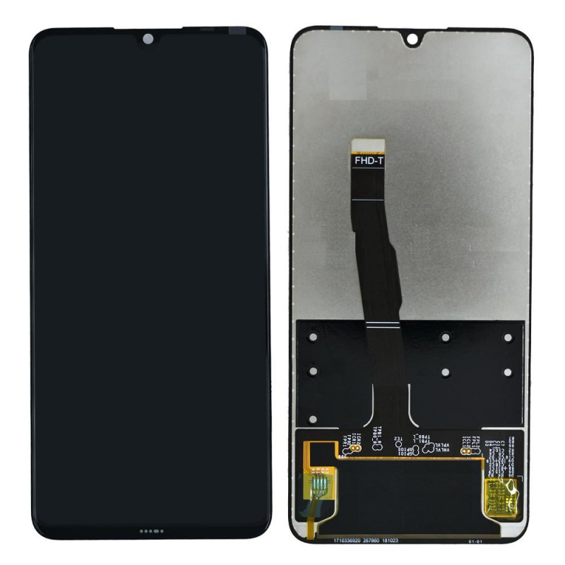 Huawei P30 Lite LCD + Touch + Frame + Battery (Black) (Service Pack)