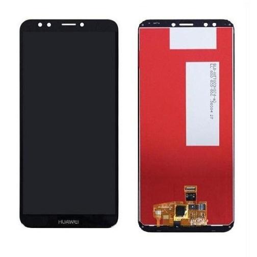 LCD + dotyk + rámeček + baterie pro Huawei Y9 (2018), black (Service Pack)
