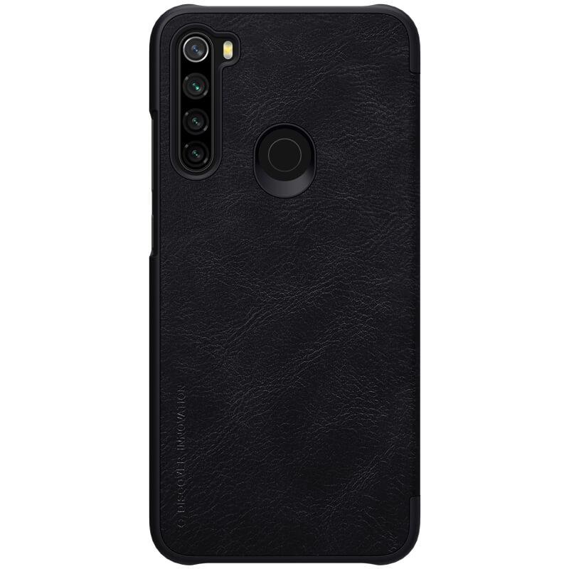 Flipové pouzdro Nillkin Qin Book pro Xiaomi Redmi Note 8, black
