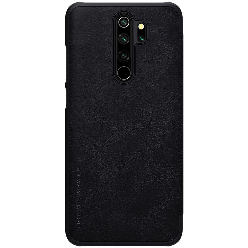 Flipové pouzdro Nillkin Qin Book pro Xiaomi Redmi Note 8 Pro, black