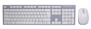 Bezdrátová klávesnice a myš EVOLVEO WK-180, bílá