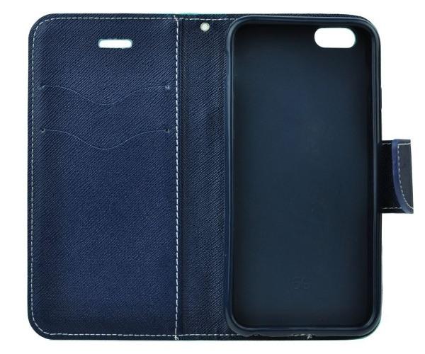 Fancy Diary flipové pouzdro pro Huawei P30, červeno-modré