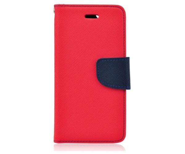 Fancy Diary flipové pouzdro pro Xiaomi Redmi Note 8, červeno-modré