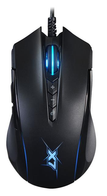 Herní myš A4tech X89 Oscar Neon, USB, černá