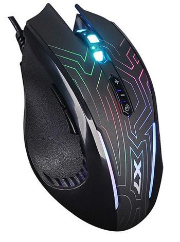 Herní myš A4tech X87 Oscar Neon, USB, černá