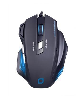 Herní myš EVOLVEO MG648, 2400DPI, černá