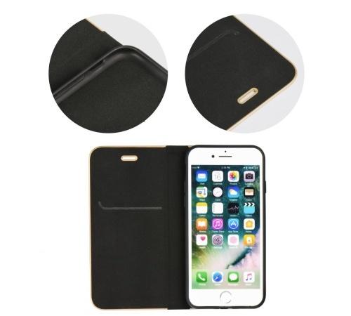 Forcell Luna Book flipové pouzdro pro Apple iPhone 11, černé