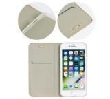 Forcell Luna Book flipové pouzdro pro Apple iPhone 11, stříbrné