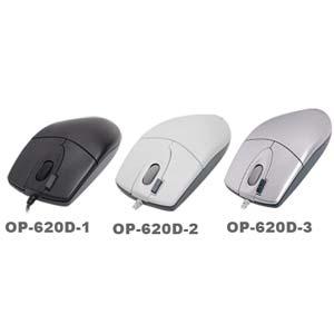 Myš A4tech OP-620D, 2click, 1 kolečko, 3 tlačítka, USB, černá