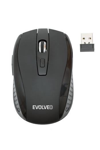 Bezdrátová myš EVOLVEO WM-242B, černá
