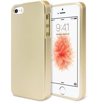 Silikonové pouzdro Mercury iJelly Metal pro Apple iPhone 11 Pro, zlatá