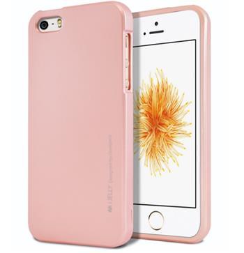 Silikonové pouzdro Mercury iJelly Metal pro Apple iPhone 11 Pro, růžovo/zlatá