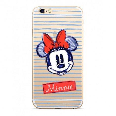 Zadni kryt Disney Minnie 011 pro Apple iPhone X/Xs, transprent