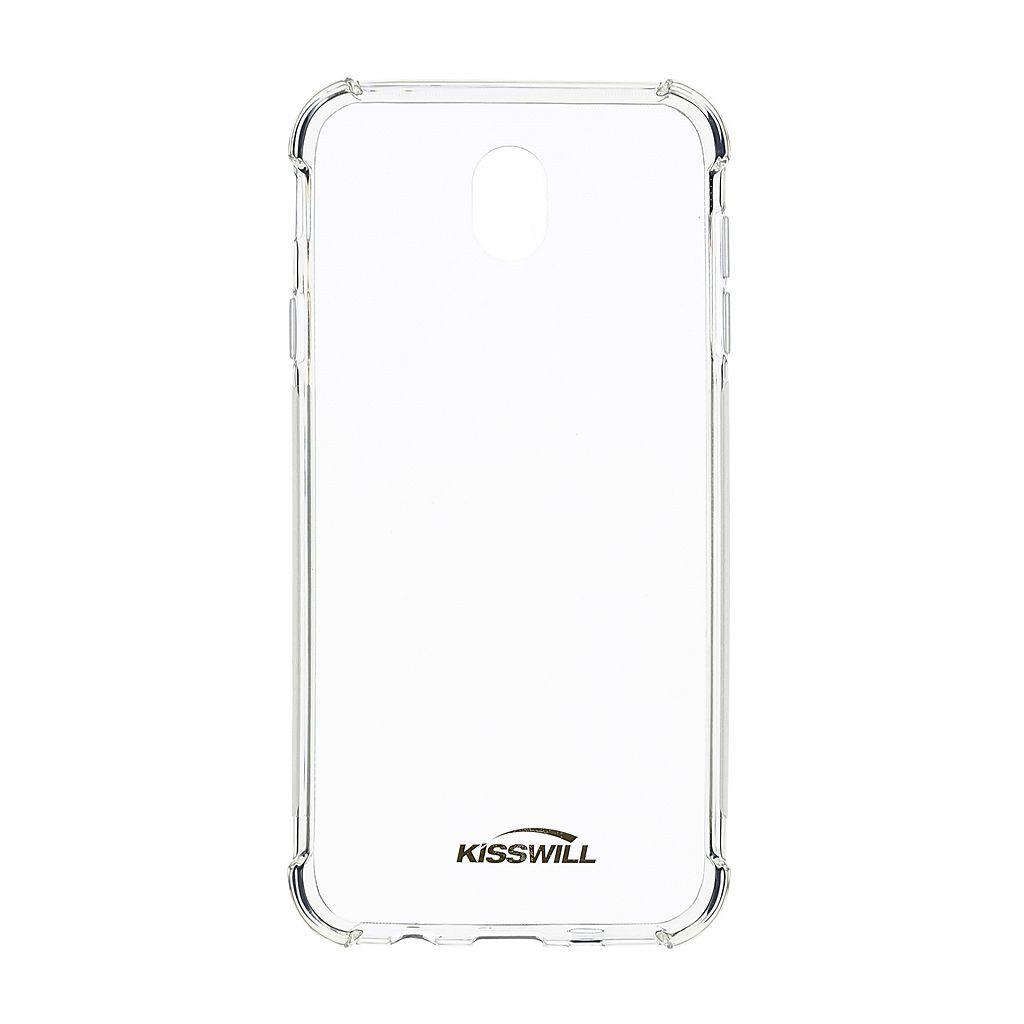 Kisswill Shock silikonové pouzdro pro Samsung Galaxy Xcover 4/4s, transparentní