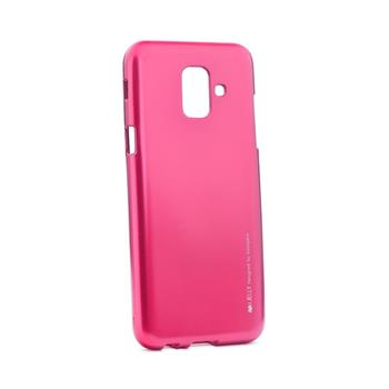 Silikonové pouzdro Mercury iJelly Metal pro Apple iPhone 11, růžová