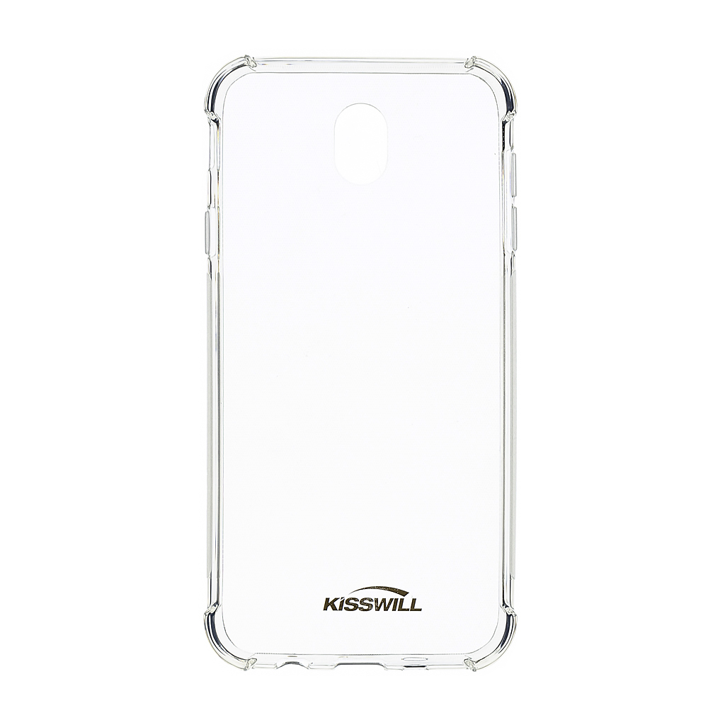 Kisswill Shock silikonové pouzdro pro Samsung Galaxy M20, transparentní