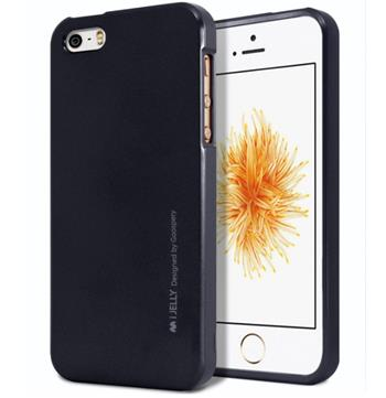 Silikonové pouzdro Mercury iJelly Metal pro Apple iPhone 11 Pro, černá