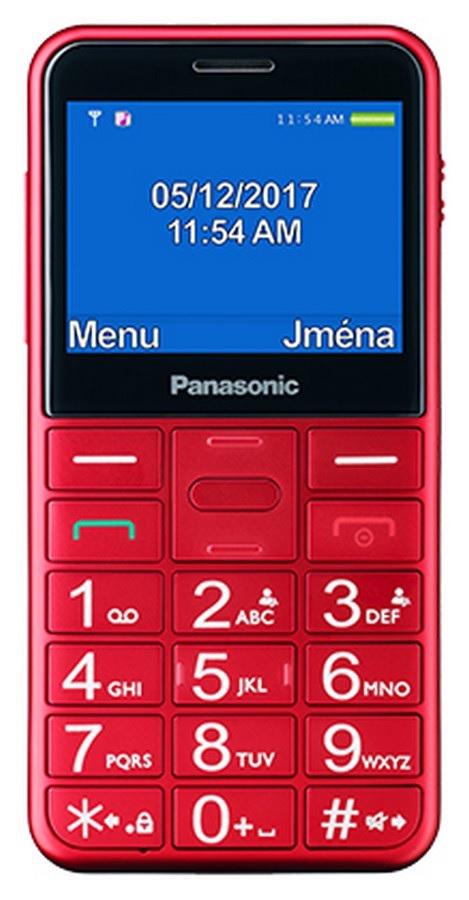 Panasonic KX-TU150EXR červená