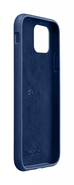 Silikonové pouzdro CellularLine SENSATION pro Apple iPhone 11 Pro Max, modrá