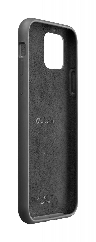 Silikonové pouzdro CellularLine SENSATION pro Apple iPhone 11 Pro Max, černá