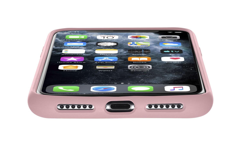 Silikonové pouzdro CellularLine SENSATION pro Apple iPhone 11 Pro, růžová
