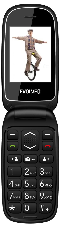 Evolveo EasyPhone FD černá