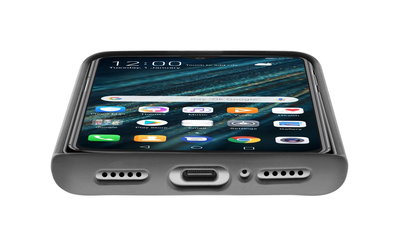 Silikonové pouzdro CellularLine SENSATION pro Huawei P30, černá