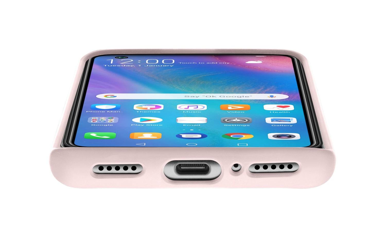 Silikonové pouzdro CellularLine SENSATION pro Huawei P30 Lite, růžová
