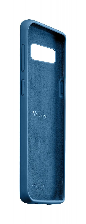Silikonové pouzdro CellularLine SENSATION pro Samsung Galaxy S10e, modrá