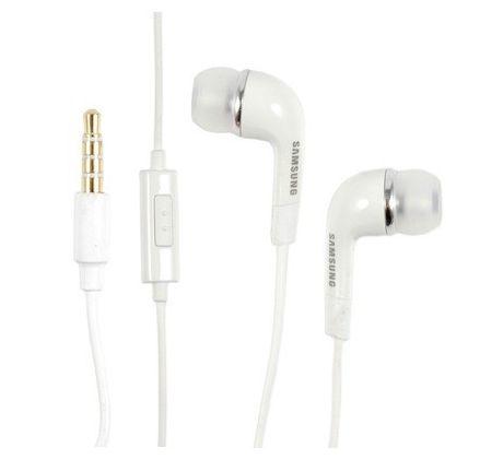 Samsung EHS64 stereo handsfree sluchátka 3,5mm jack White