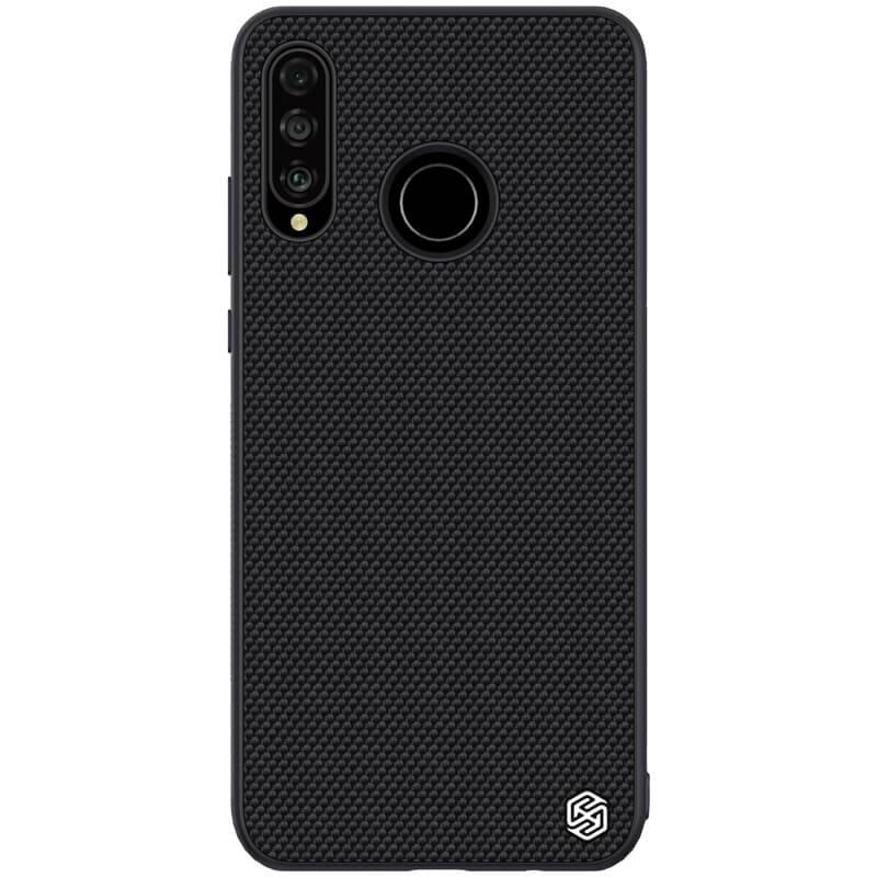Zadní kryt Nillkin Textured Hard Case pro Huawei P30 Lite, černá