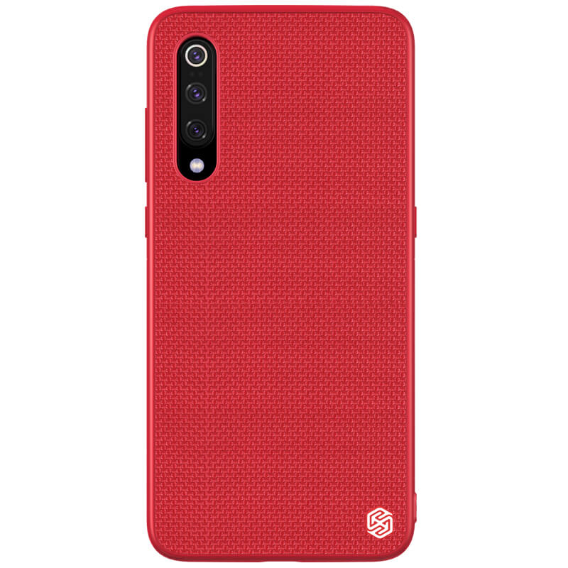 Zadní kryt Nillkin Textured Hard Case pro Xiaomi Mi 9, červená
