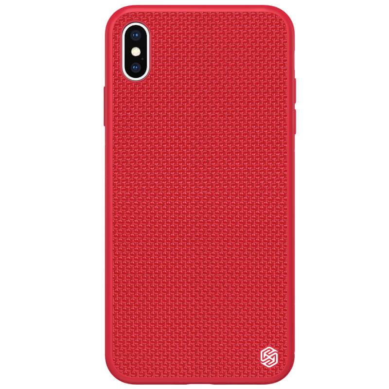 Zadní kryt Nillkin Textured Hard Case pro Apple iPhone X/XS, červená