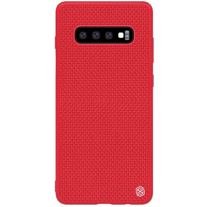 Zadní kryt Nillkin Textured Hard Case pro Samsung Galaxy S10, červená