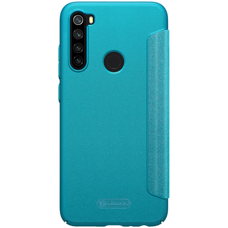 Nillkin Sparkle flipové pouzdro pro Xiaomi Redmi Note 8, blue