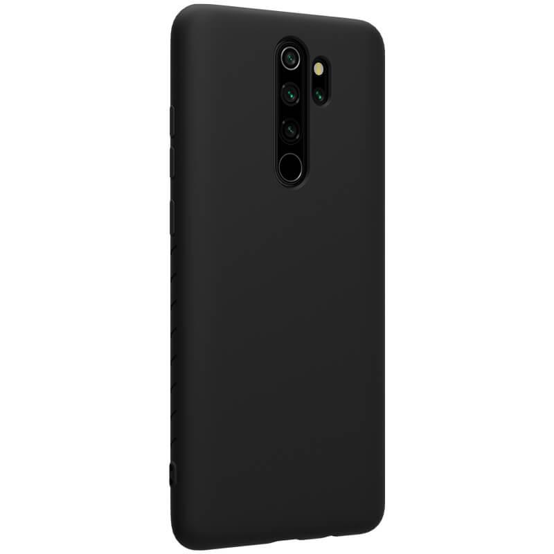 Zadní kryt Nillkin Rubber Wrapped pro Xiaomi Redmi Note 8 Pro, černá