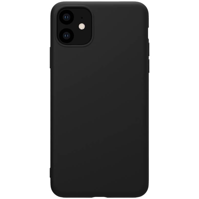 Zadní kryt Nillkin Rubber Wrapped pro Apple iPhone 11, černá