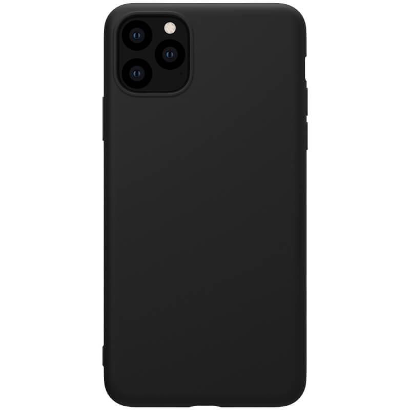 Zadní kryt Nillkin Rubber Wrapped pro Apple iPhone 11 Pro, černá