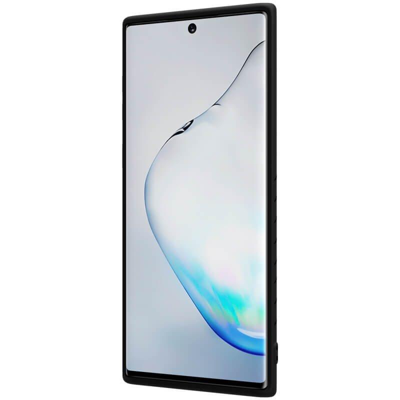 Zadní kryt Nillkin Rubber Wrapped pro Samsung Galaxy Note 10 Plus, černá
