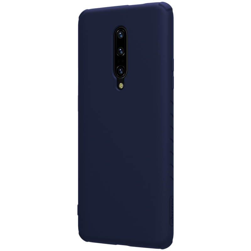 Zadní kryt Nillkin Rubber Wrapped pro OnePlus 7 Pro, modrá