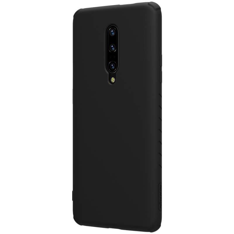 Zadní kryt Nillkin Rubber Wrapped pro OnePlus 7 Pro, černá