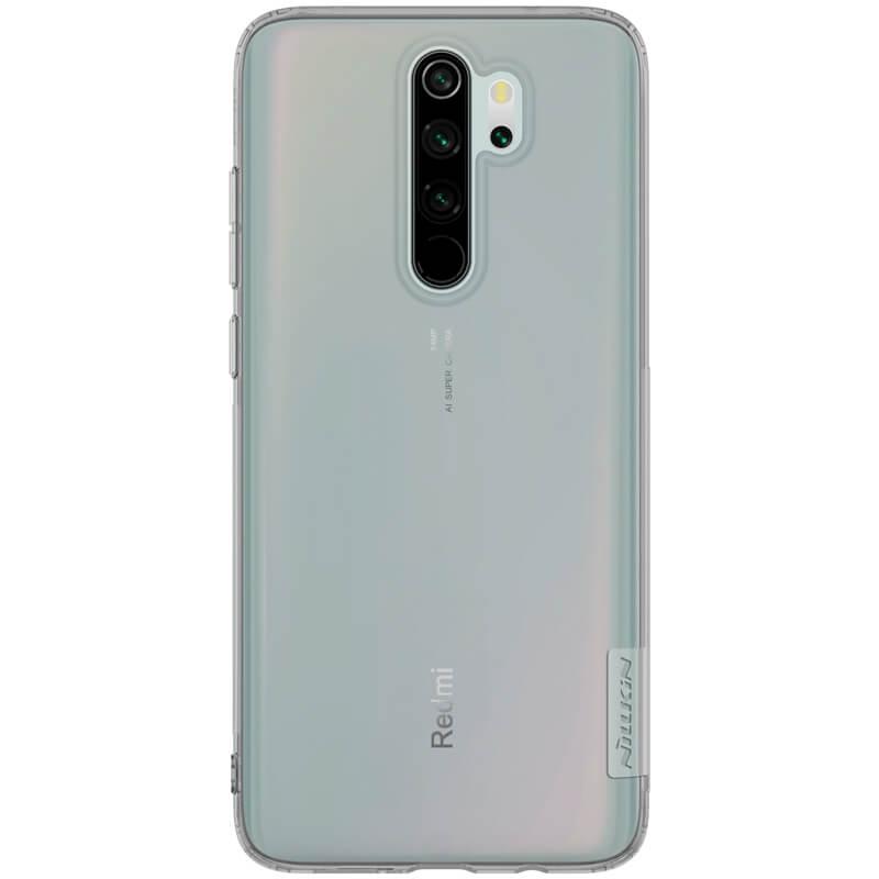 Silikonové pouzdro Nillkin Nature pro Xiaomi Redmi Note 8 Pro, grey