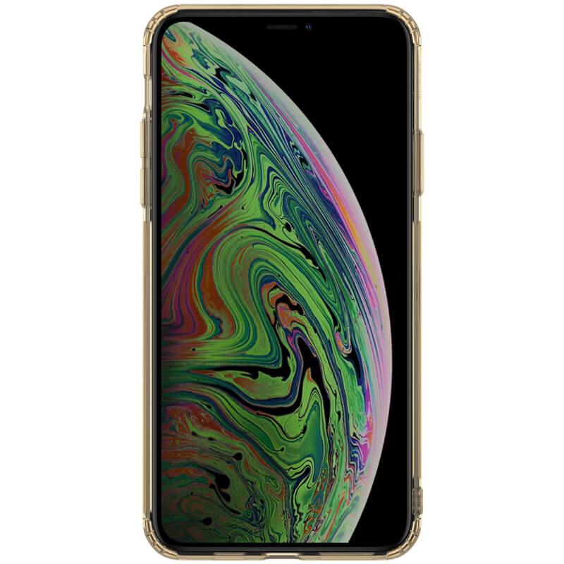 Silikonové pouzdro Nillkin Nature pro Apple iPhone 11 Pro Max, tawny