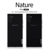 Silikonové pouzdro Nillkin Nature pro Samsung Galaxy Note 10, transparent