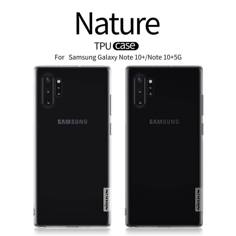 Silikonové pouzdro Nillkin Nature pro Samsung Galaxy Note 10 Plus, grey